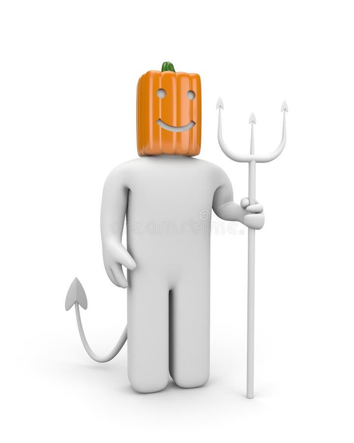 Halloween character royalty free illustration