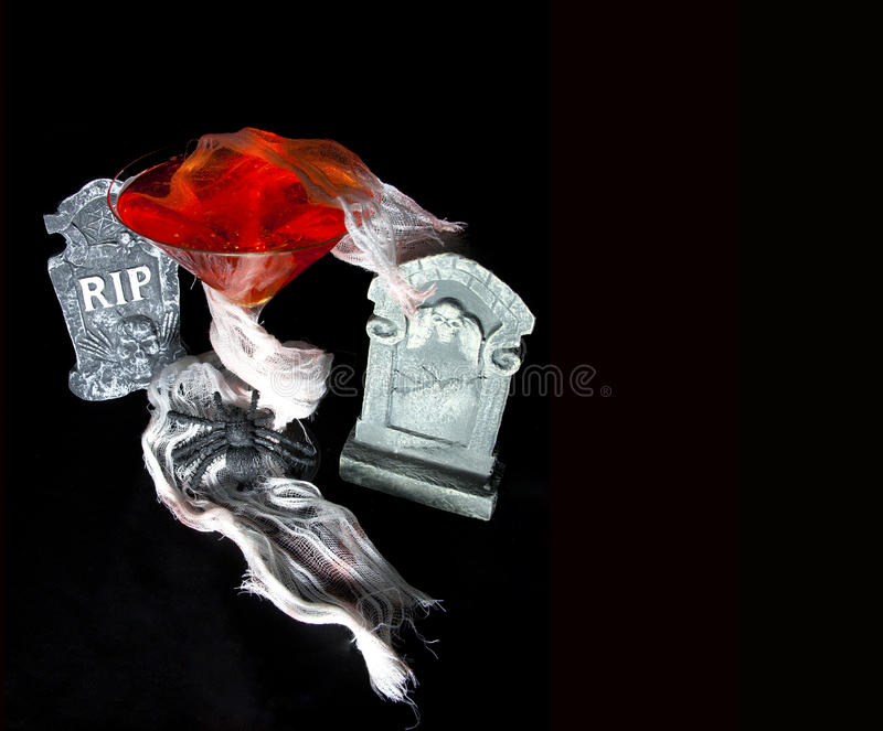 Download Halloween Cocktail stock image. Image of season, headstones - 19577921