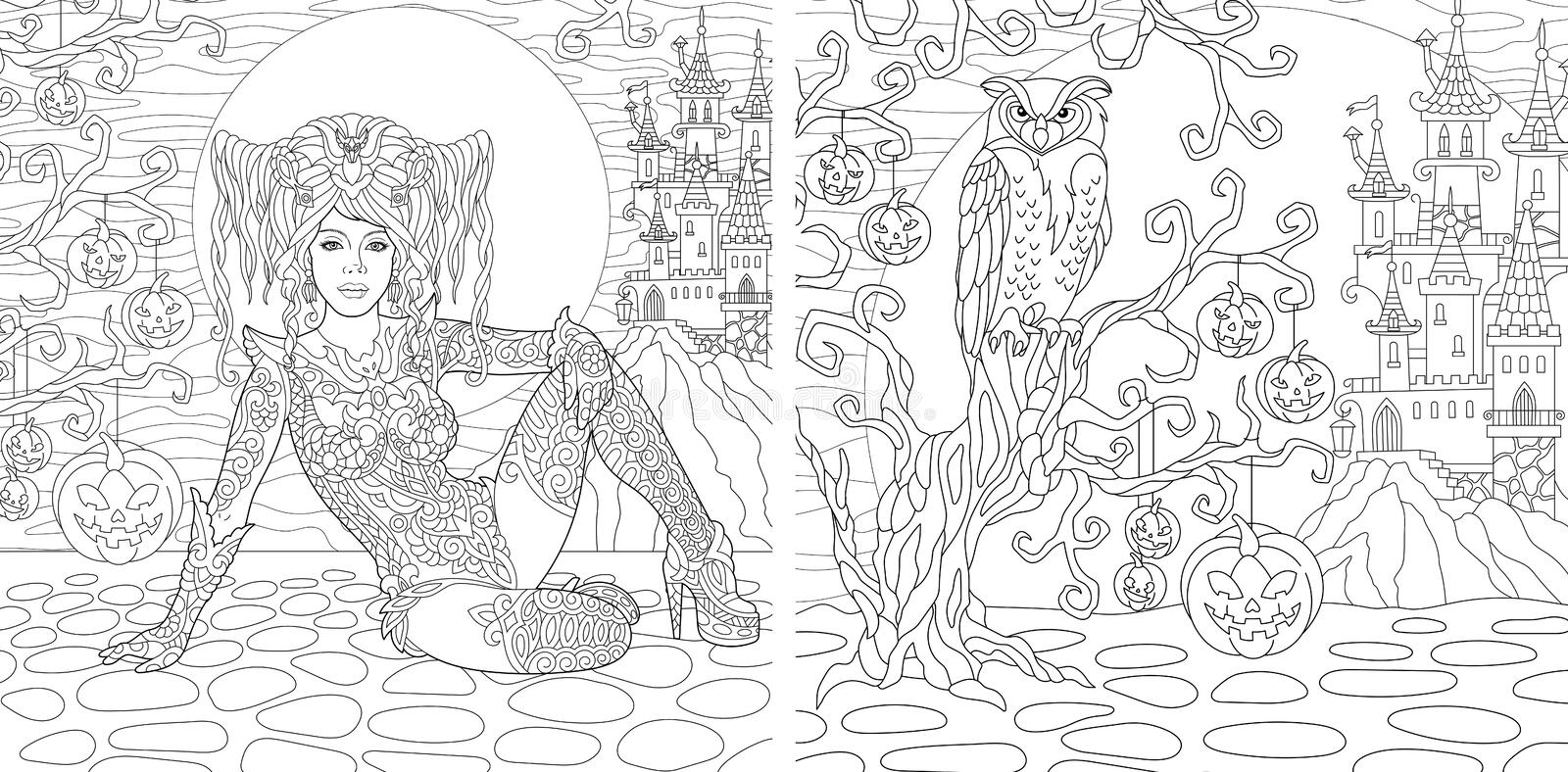 Book Review: The Beauty Of Horror: A GOREgeous Coloring Book By ... | 394x800