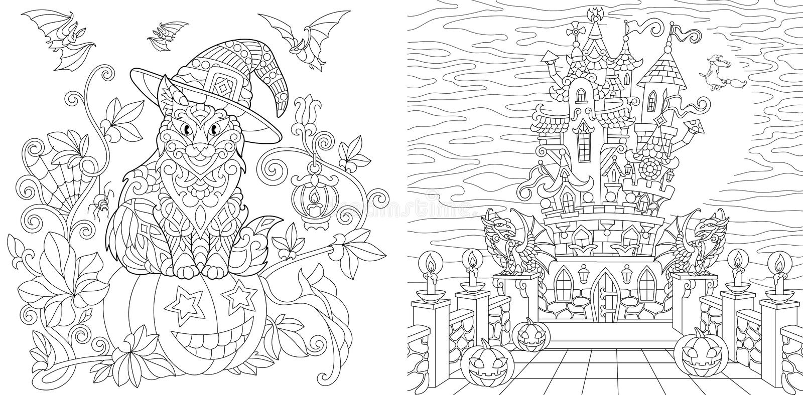 Halloween | Free Coloring Pages | crayola.com | 394x800