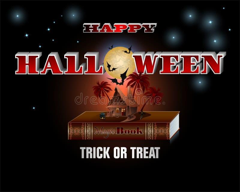 Halloween comme conte de fées illustration stock