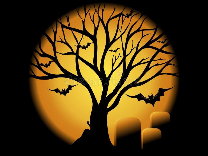 Halloween Concepet lizenzfreie abbildung