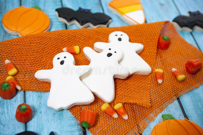 Halloween Cookies stock photography