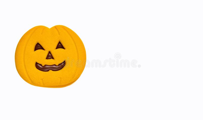 Halloween cookies. royalty free stock images