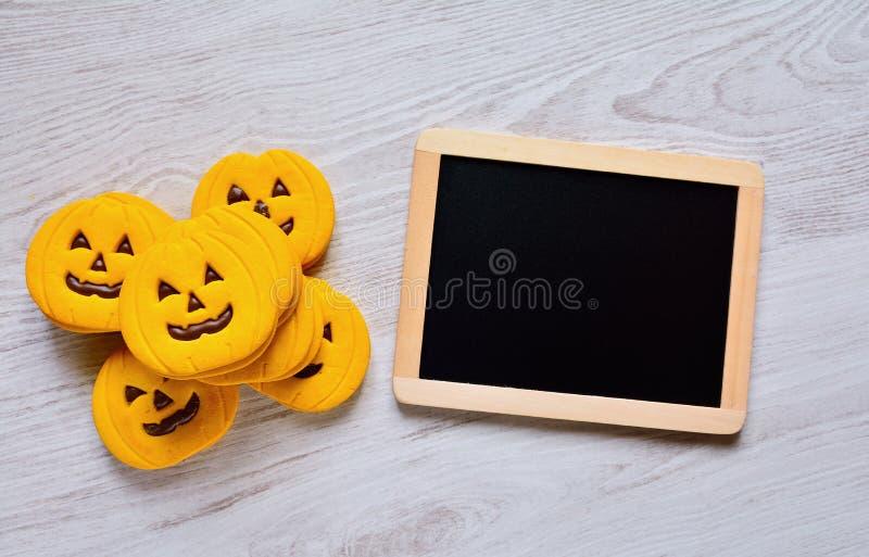 Halloween cookies. stock images
