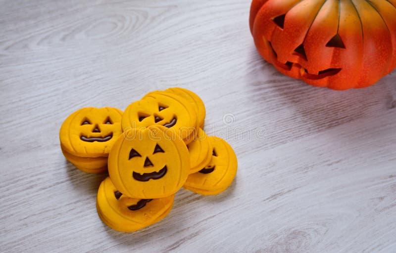 Halloween cookies. royalty free stock image