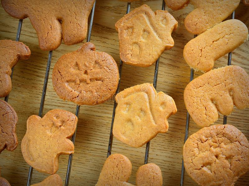 Halloween cookies. stock photography