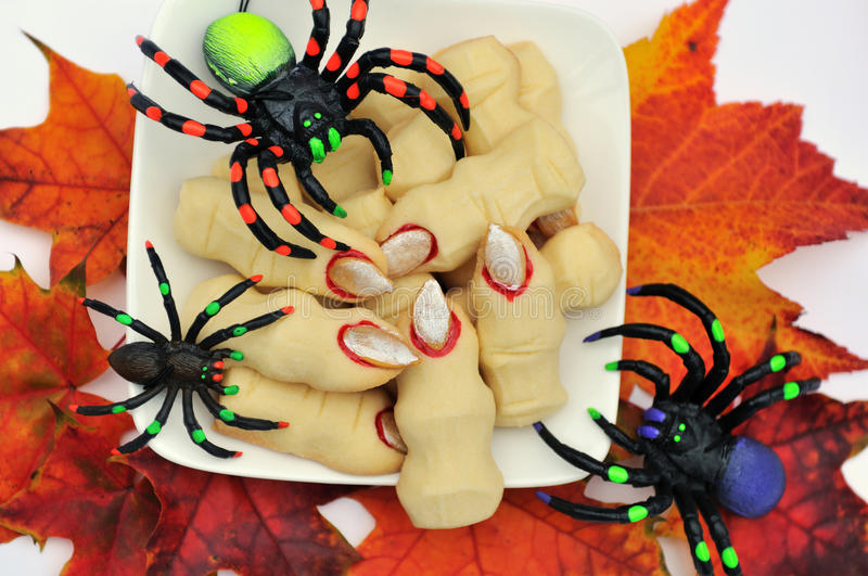 Download Halloween Cookies Witch's Fingers Stock Image - Image: 17963961