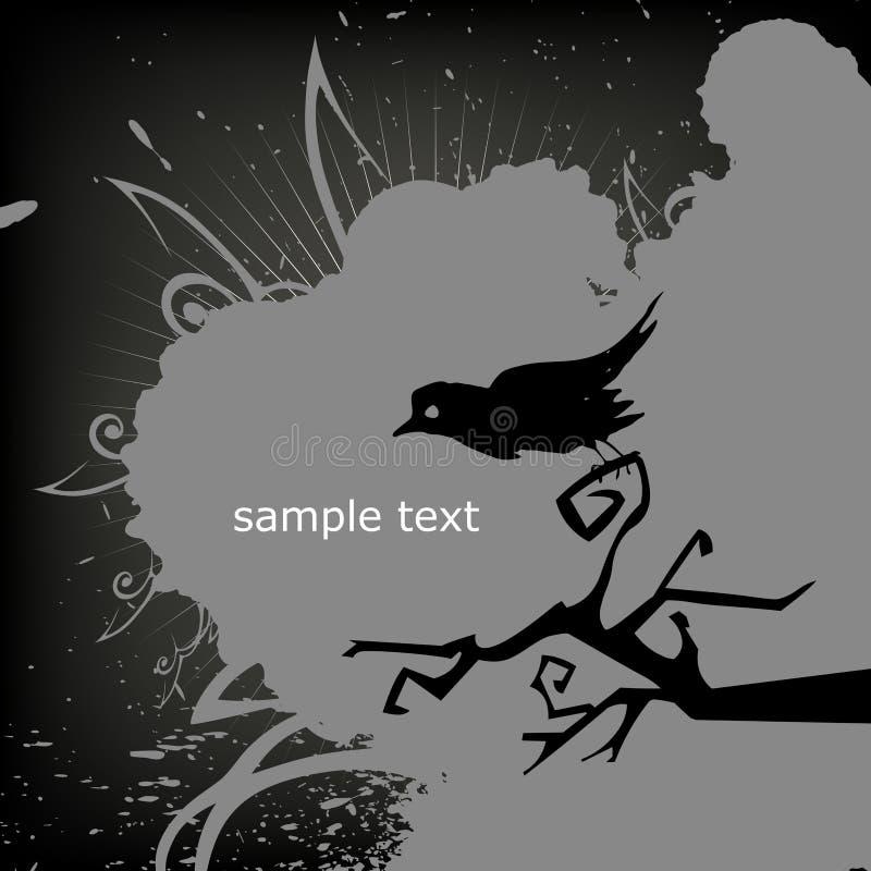 Download Halloween crow stock vector. Image of death, background - 10994053