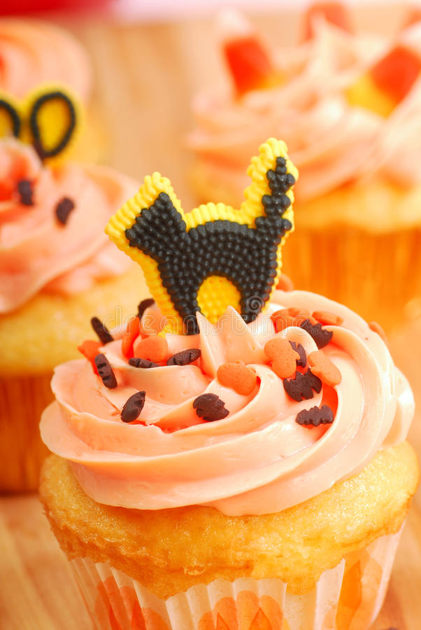 Download Halloween Cupcakes Being Frosted Stock Photos - Image: 16097503