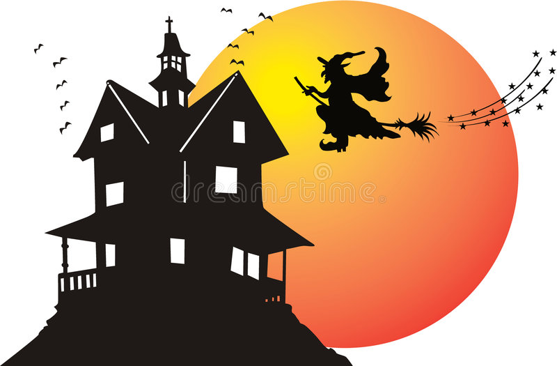 halloween czarownica ilustracja wektor