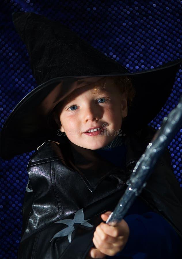 halloween czarownik fotografia stock