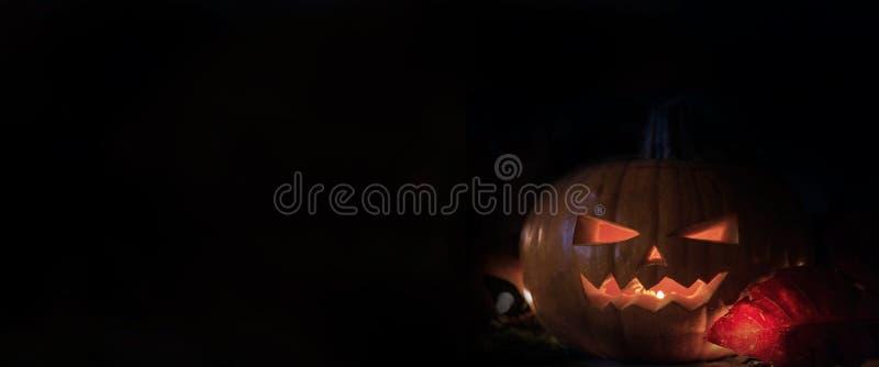 Halloween dark black background. Spooky pumpkin fantasy scary texture. Halloween dark black background. Spooky pumpkin colors fantasy horror royalty free stock image