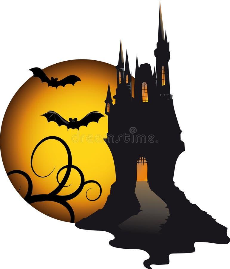 Download Halloween dark theme stock vector. Image of placard, light - 21792492