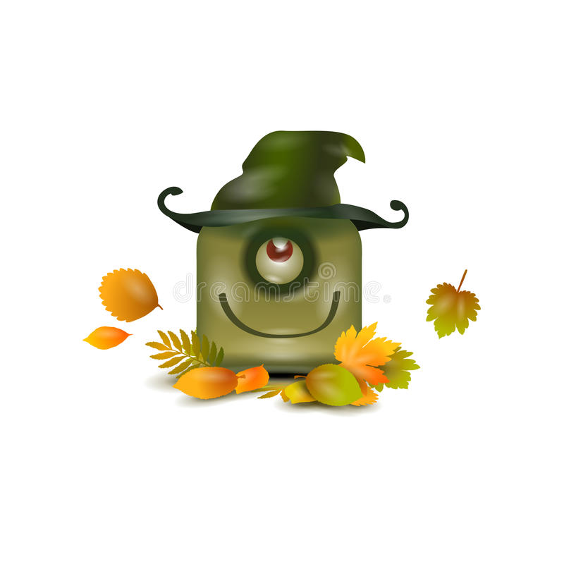 Halloween. De herfst royalty-vrije illustratie