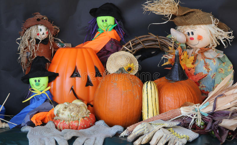 Halloween Decor stock photography