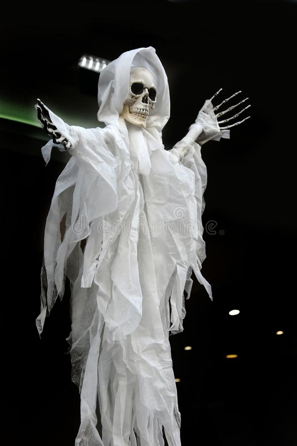 Ghost string puppet stock photography