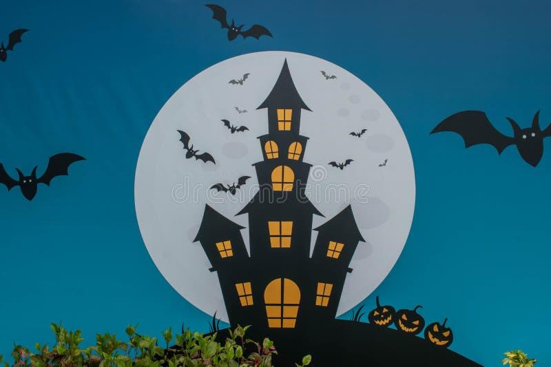 Halloween decoration at Seaworld in International Drive 142. stock image