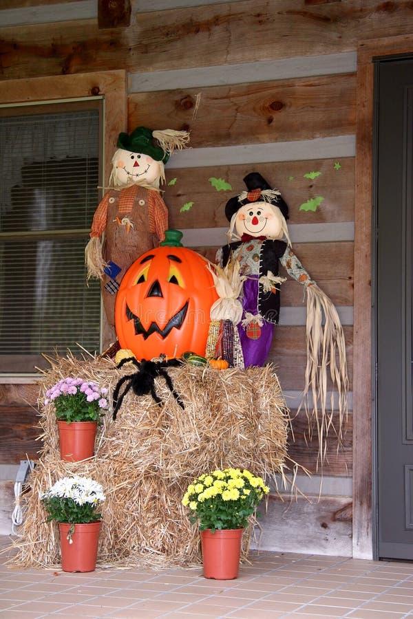 Halloween Decorations royalty free stock photos