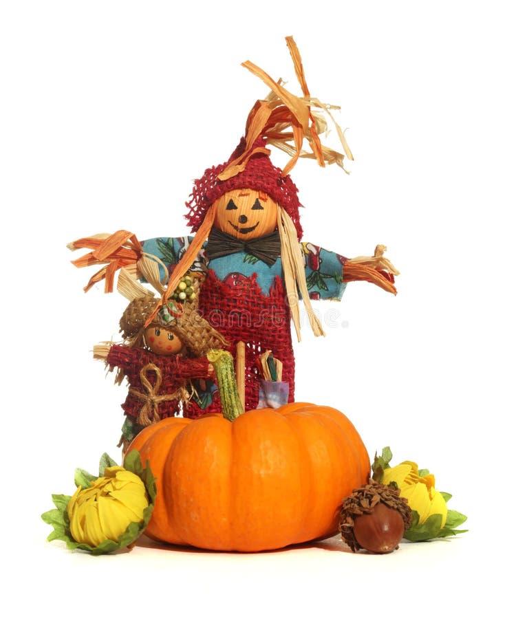 Halloween decorations stock photo