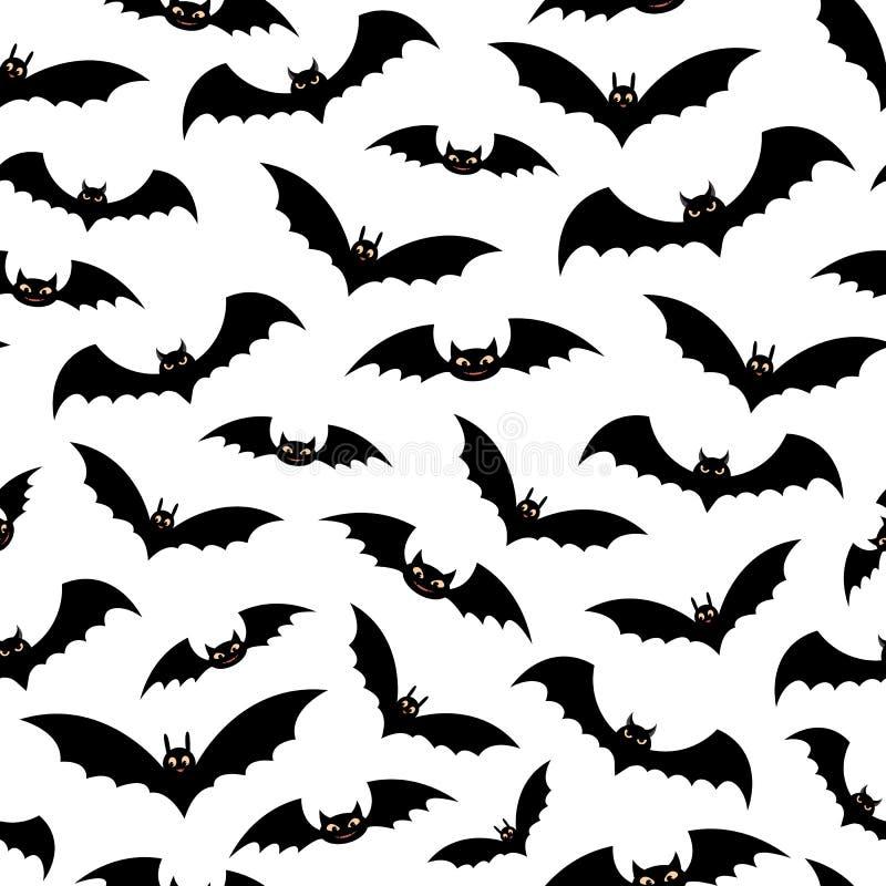 Halloween decorative seamless pattern. vector illustration