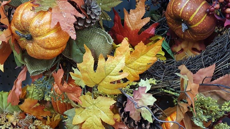 Halloween-Dekor stockbild