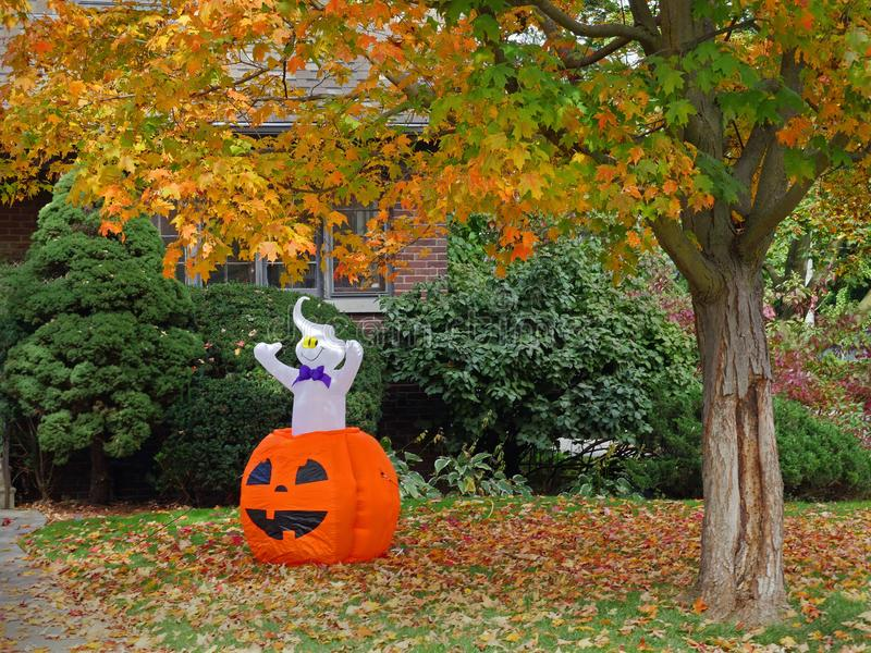 Halloween-Dekorationen lizenzfreie stockfotos