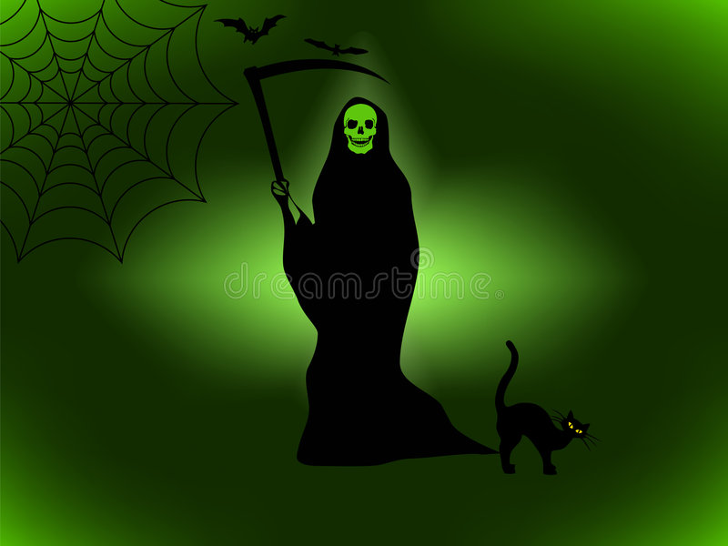 Halloween In Der Grausigkeit Stockfotos