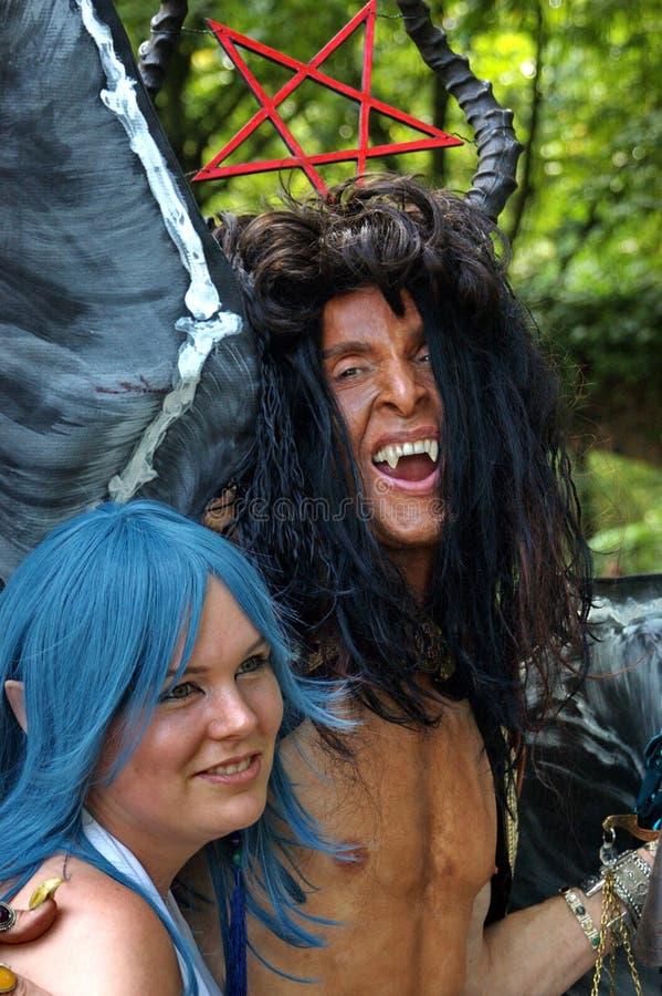Halloween Devil Editorial Photography