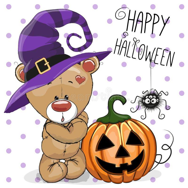 Halloween draagt royalty-vrije illustratie