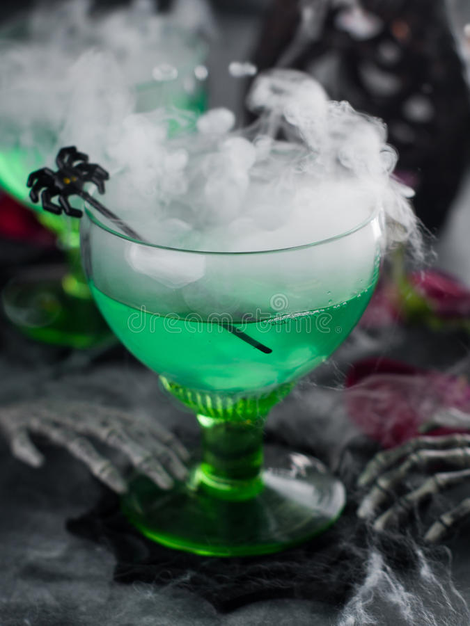 Halloween drink stock photo
