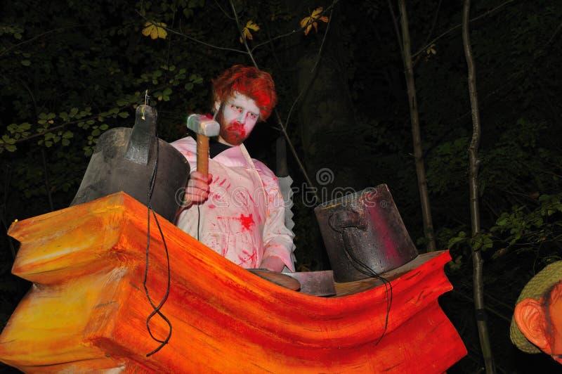 Halloween in Dublin, Marlay park stock images