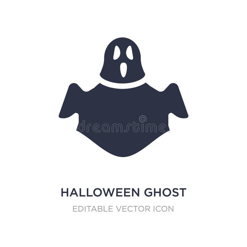 halloween ducha ikona na białym tle Prosta element ilustracja od Halloweenowego pojęcia ilustracja wektor