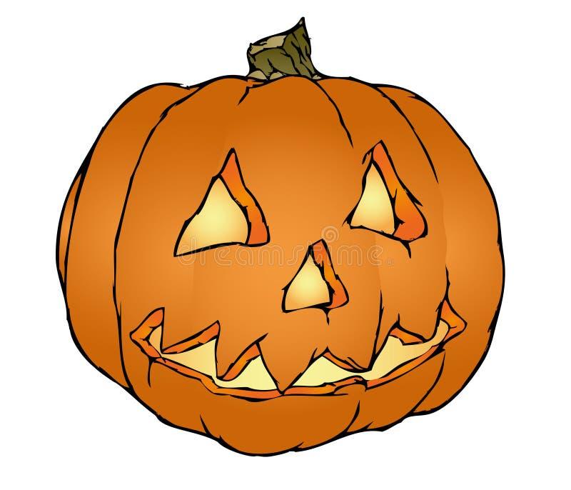 halloween dynię wektora royalty ilustracja