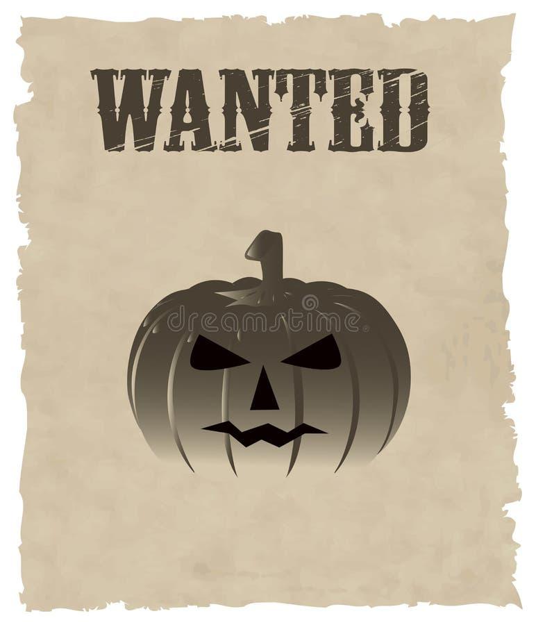 halloween dynię wektora ilustracji