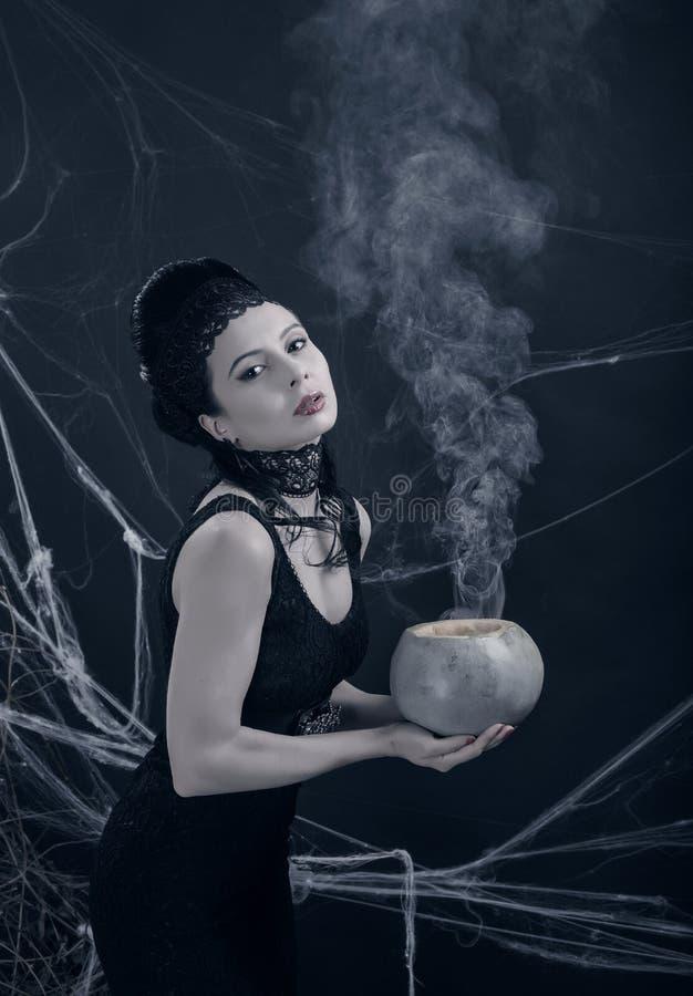 Halloween E foto de stock