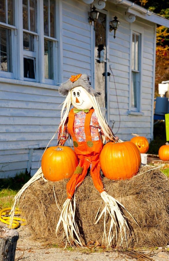 Halloween em Maine foto de stock