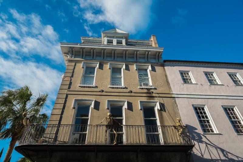 Halloween en Charleston fotos de archivo libres de regalías