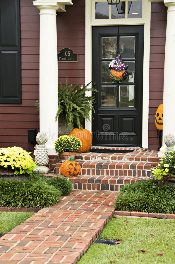 Download Halloween Entry Stock Image - Image: 6799111