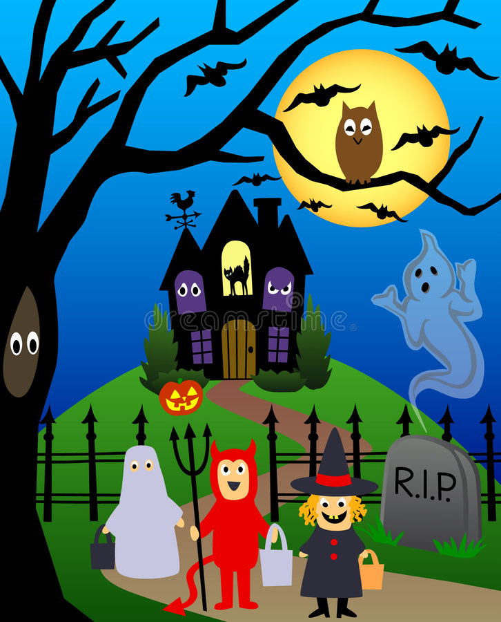 Halloween/eps vector illustratie