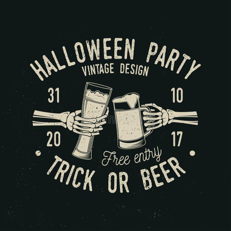 Halloween es concepto que viene Ilustración del vector ilustración del vector