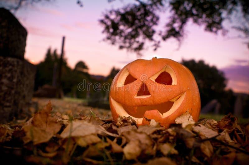 Halloween Evening royalty free stock image