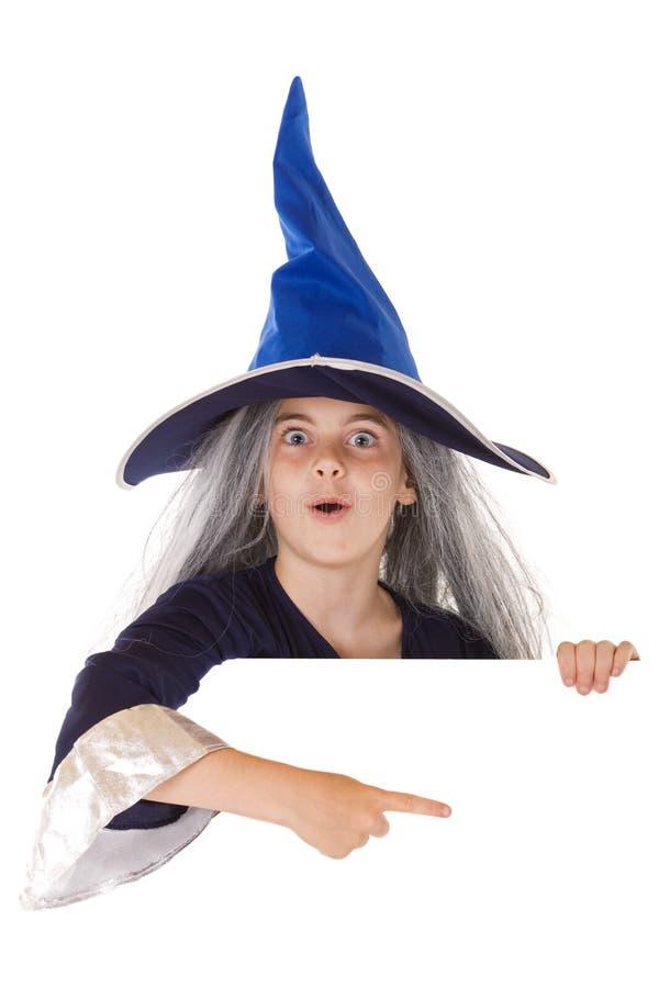 Halloween-Fahne stockbild