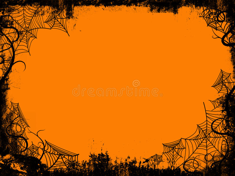 Halloween-Feld vektor abbildung