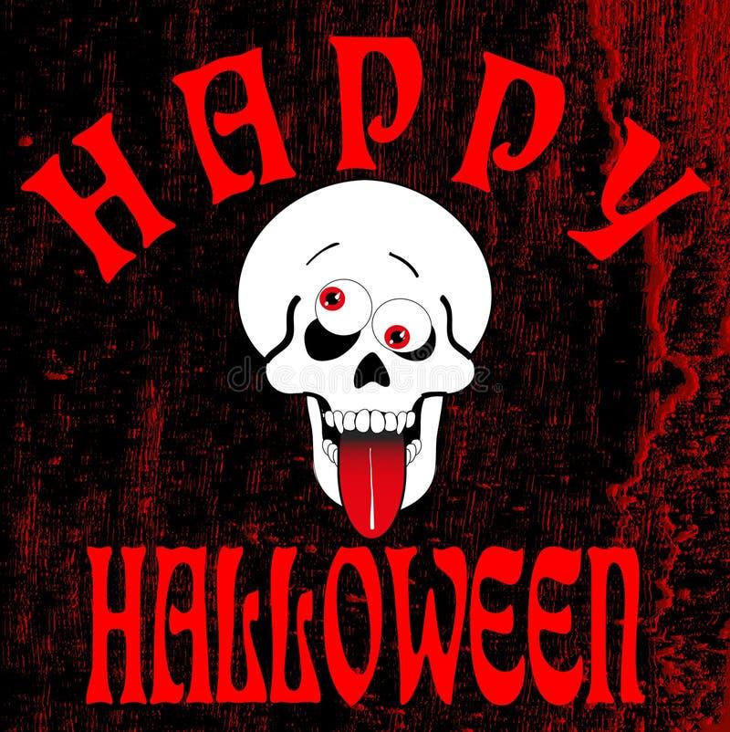 Halloween7a felice illustrazione di stock