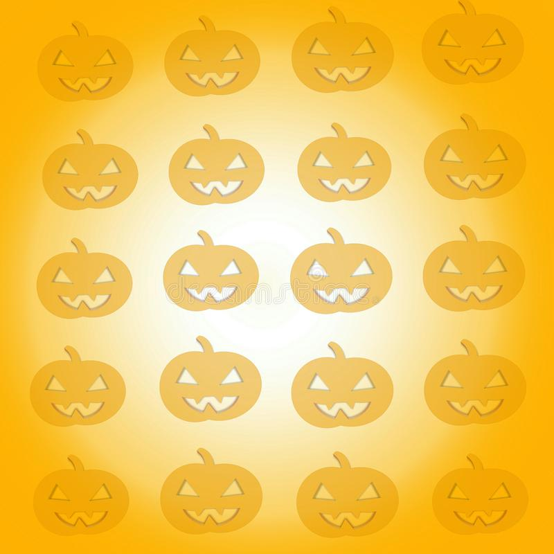 Halloween felice, giorno di Halloween illustrazione di stock