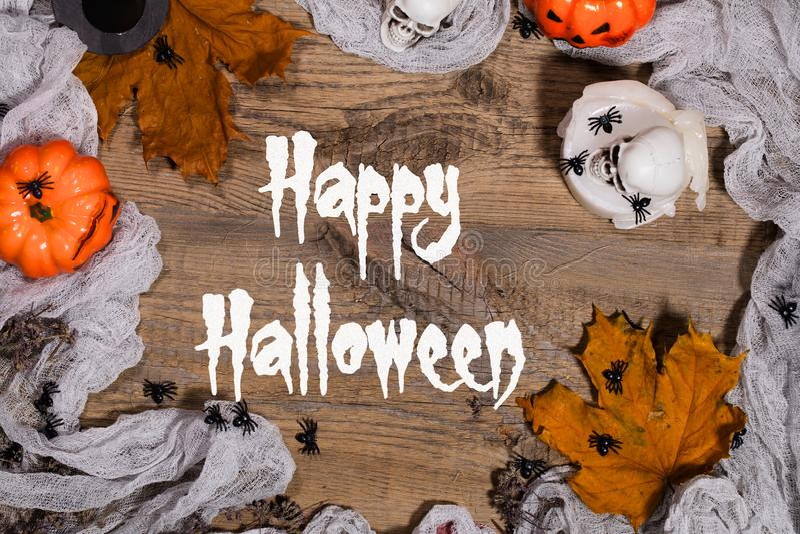 Halloween feliz Fundo fotografia de stock