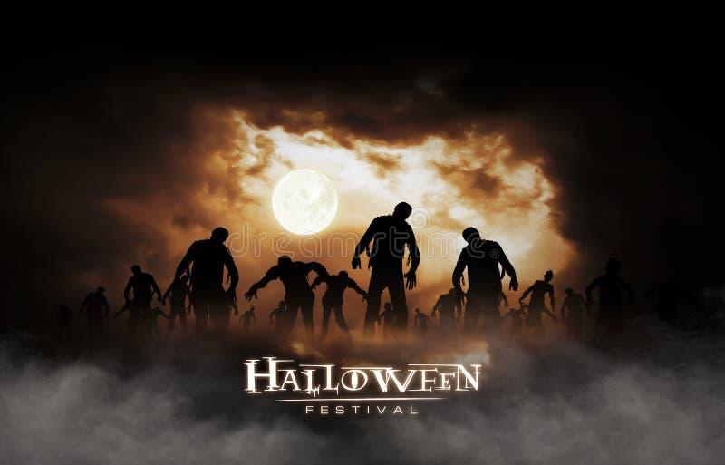 Halloween-Festival royalty-vrije illustratie