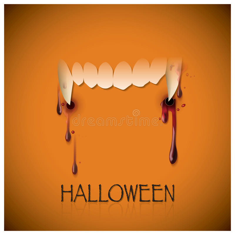 Free Halloween Festival Bite And Blood Background Stock Photos - 44574693