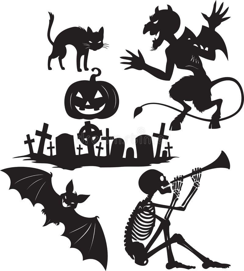 halloween former stock illustrationer